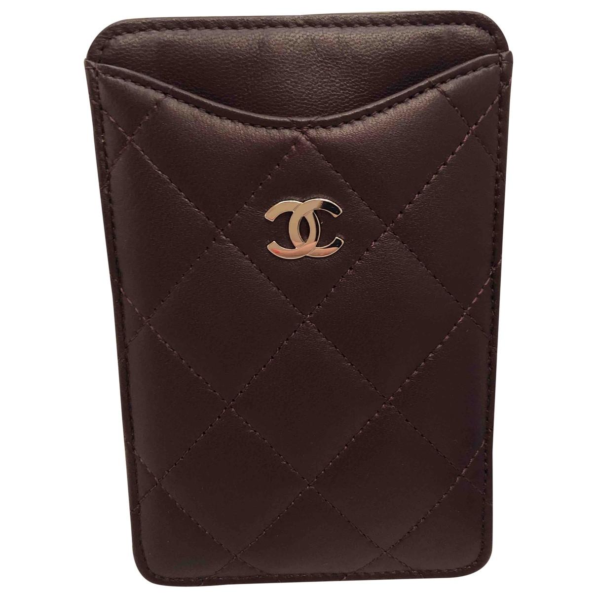 Chanel - Accessoires   pour lifestyle en cuir - violet