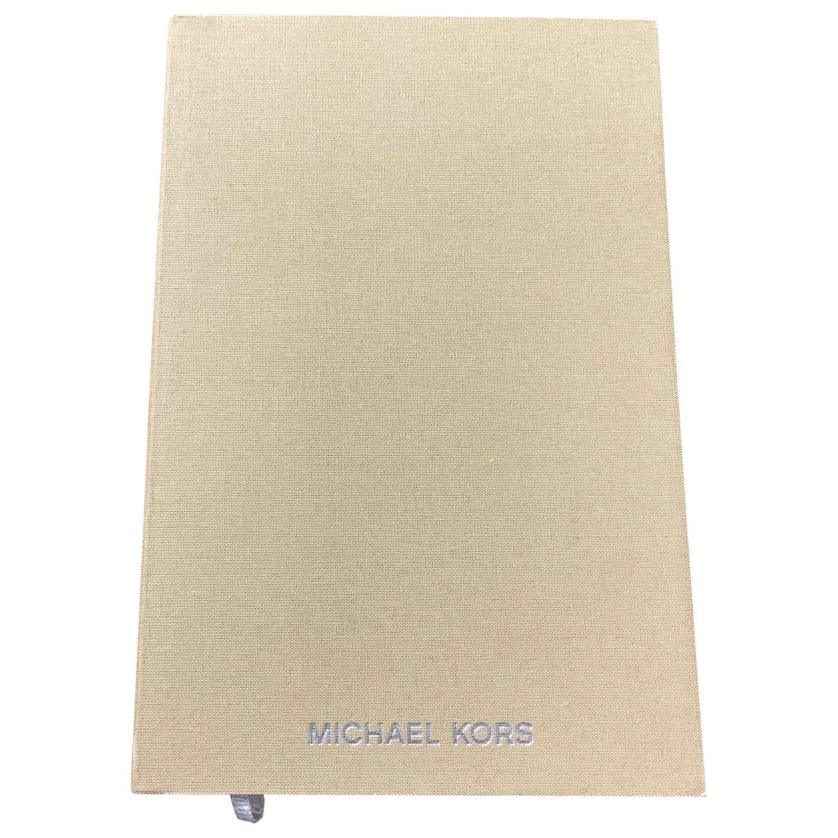Michael Kors - Objets & Deco   pour lifestyle en coton - beige