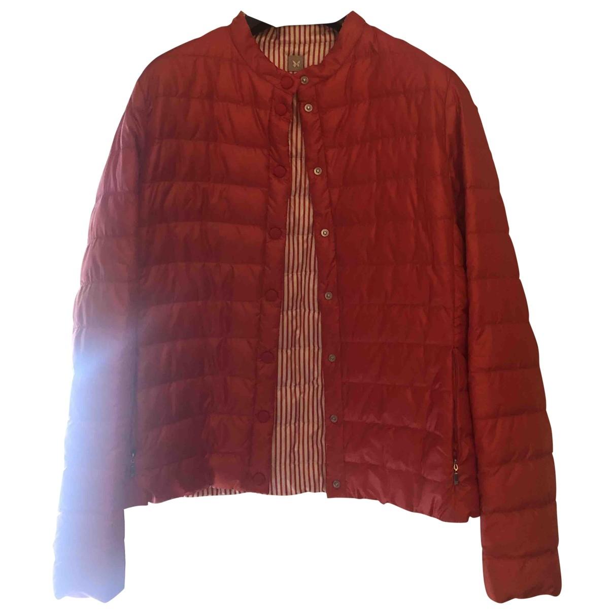 Max Mara Weekend \N Jacke in  Rot Polyester