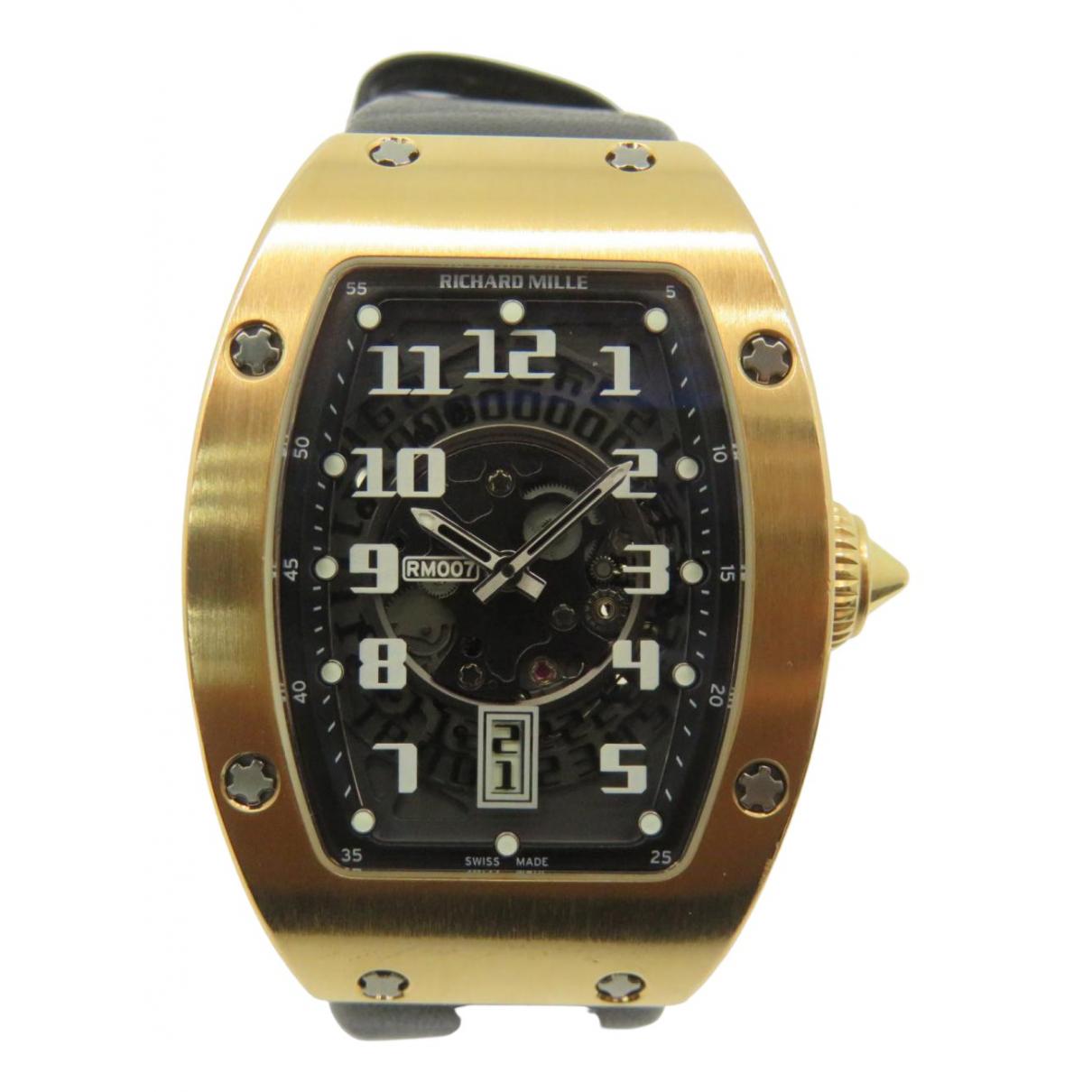 Reloj de Oro rosa Richard Mille