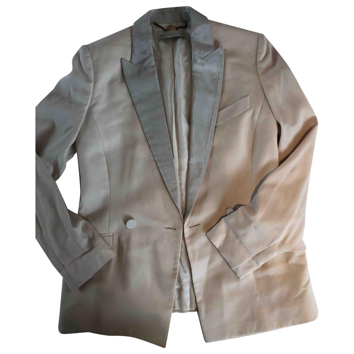 Stella Mccartney \N Beige jacket for Women 44 IT