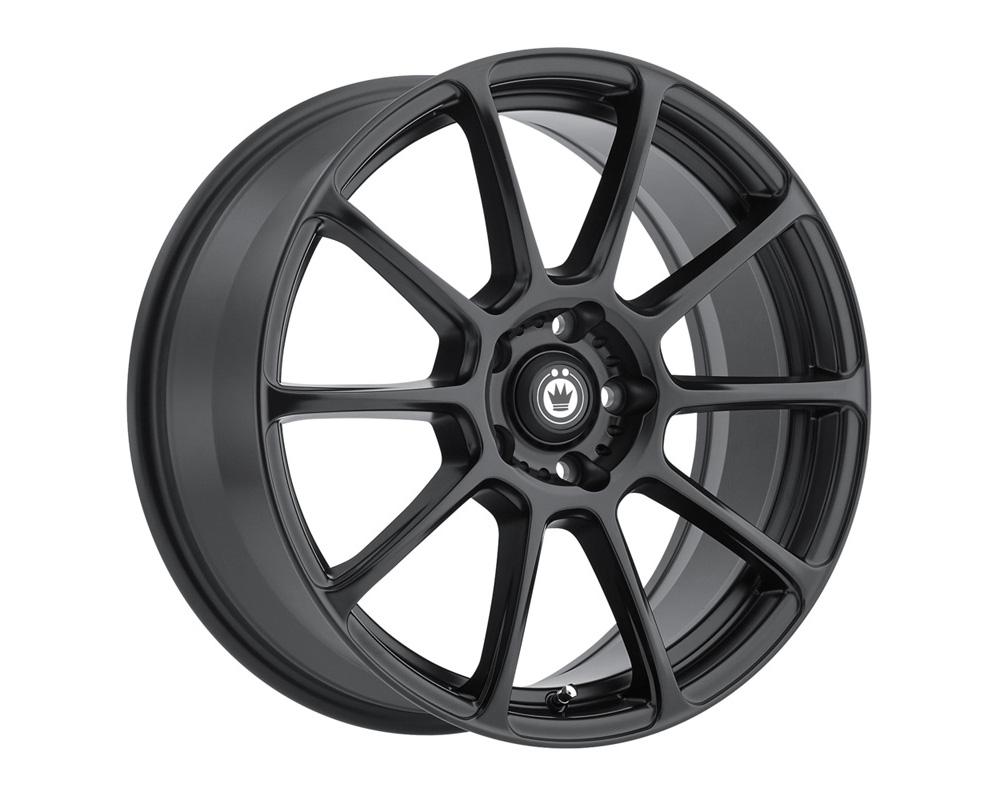 Konig Runlite Matte Black Wheel 16x7.5 5x114.3 45