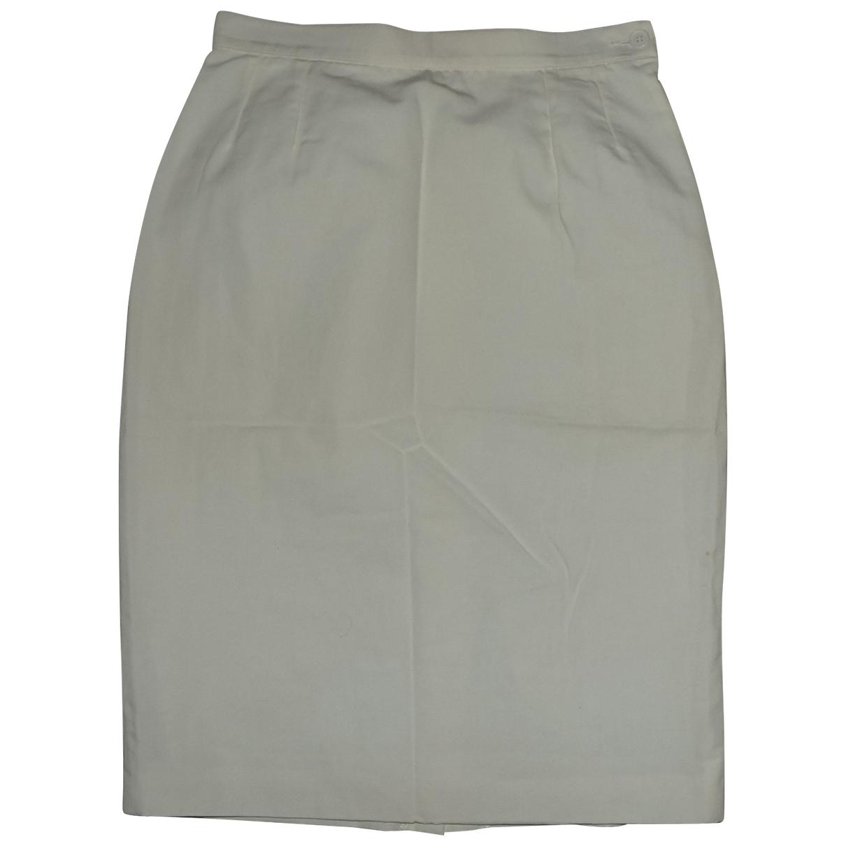Yves Saint Laurent - Jupe   pour femme en coton