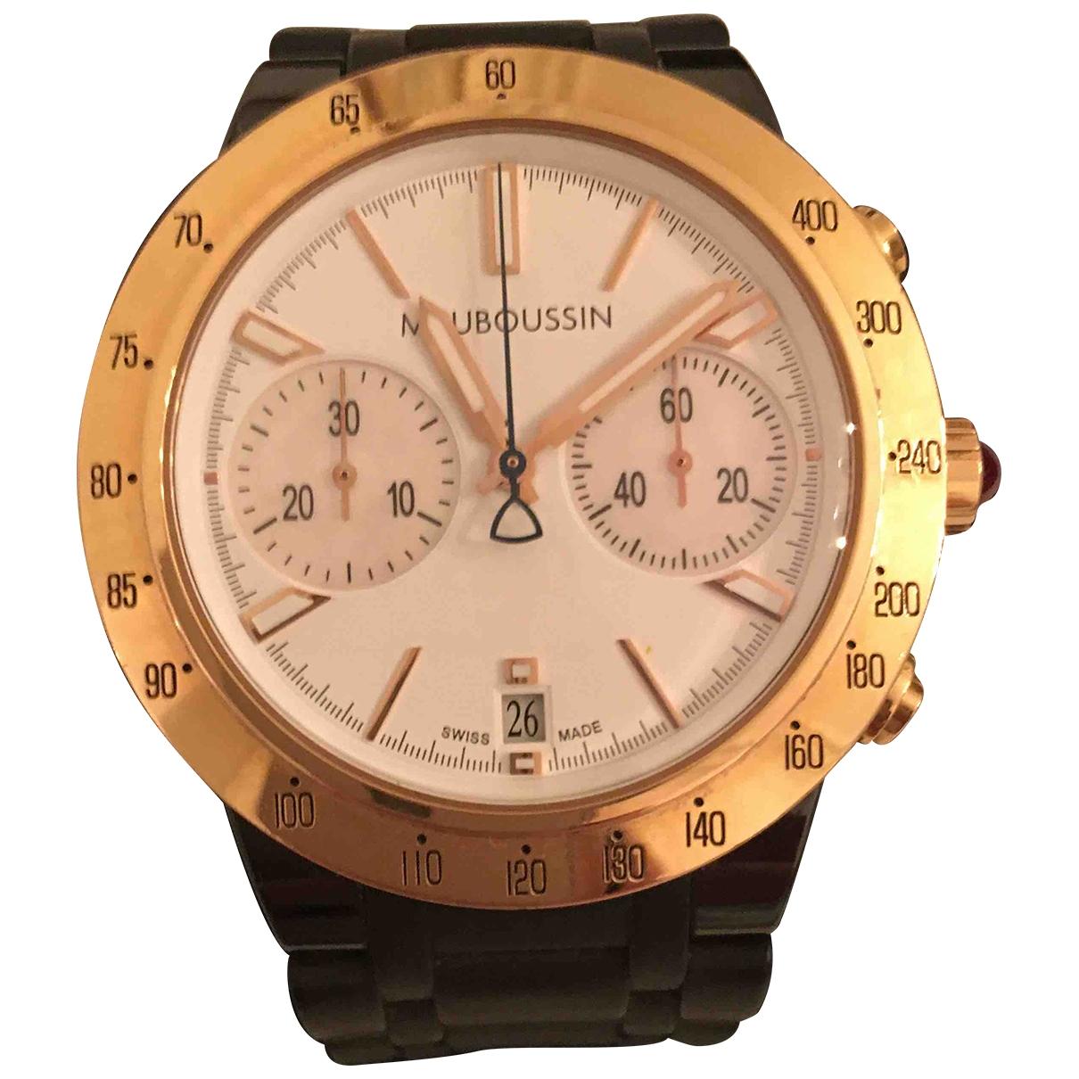 Reloj de Oro rosa Mauboussin