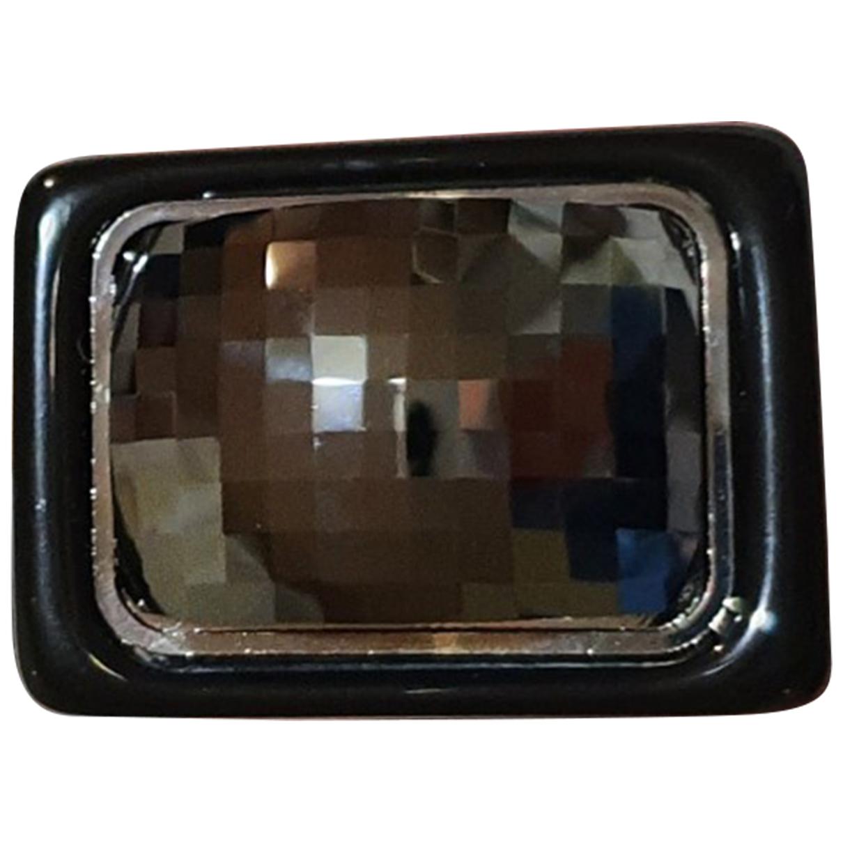 Hugo Boss - Bague   pour femme en cristal - noir