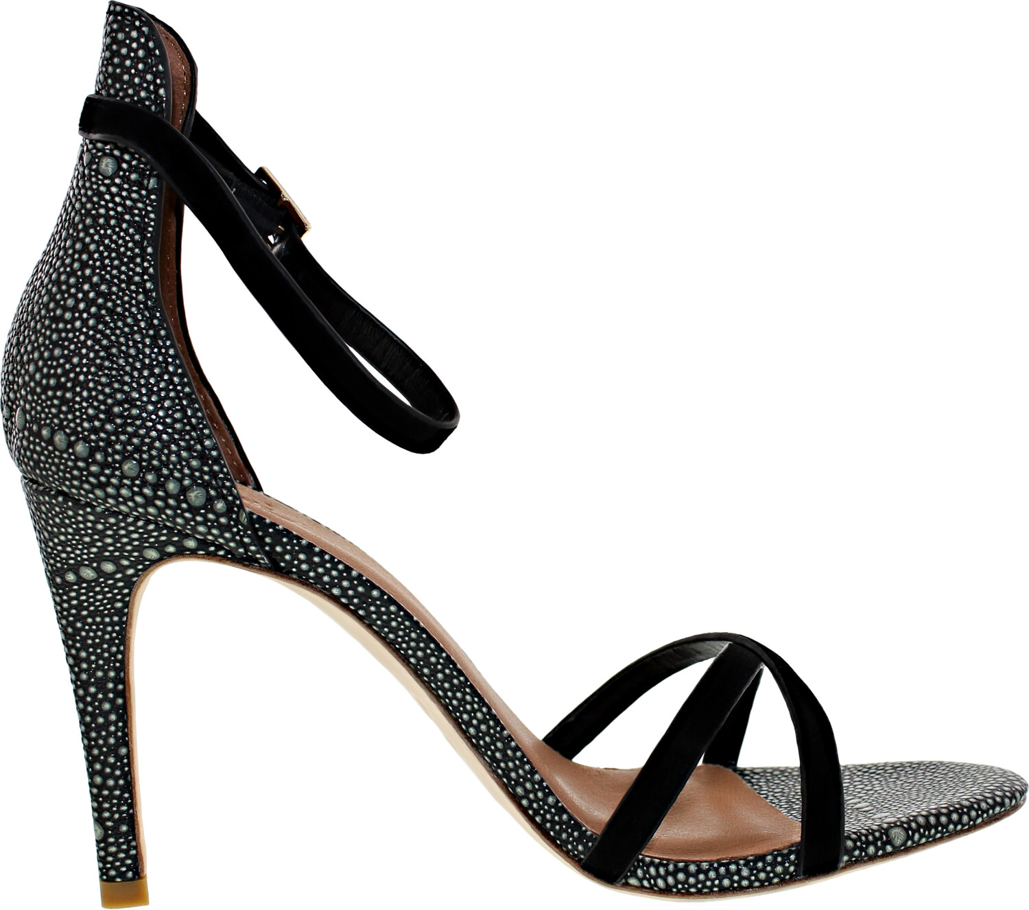 Joie Women's Jade Black Ankle-High Leather Pump - 7.5M