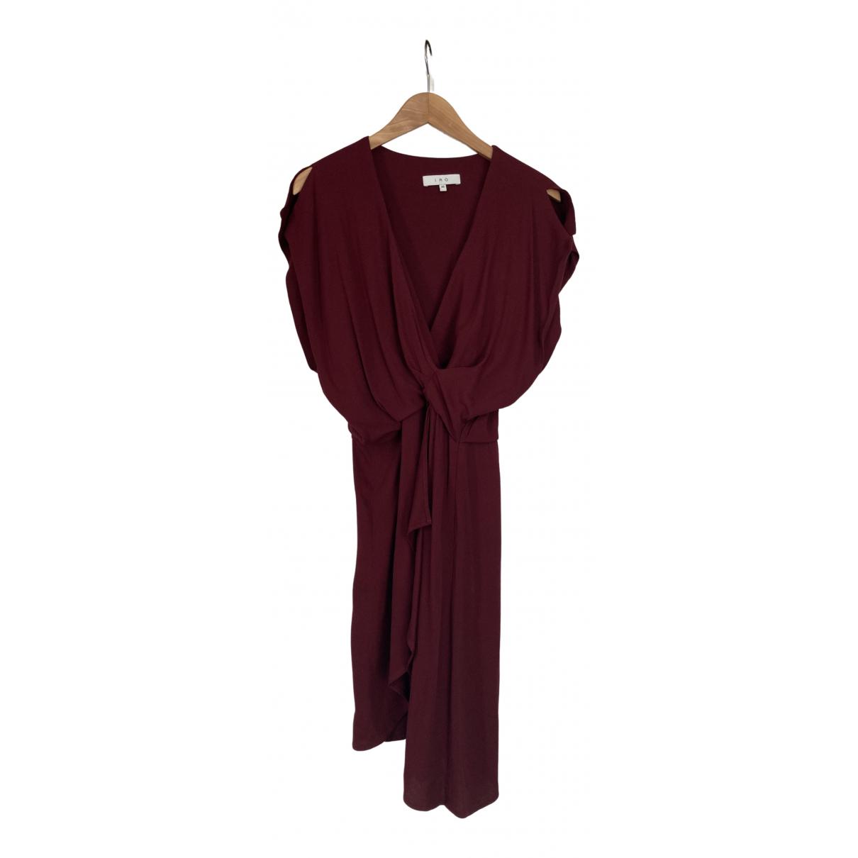 Iro - Robe   pour femme - bordeaux
