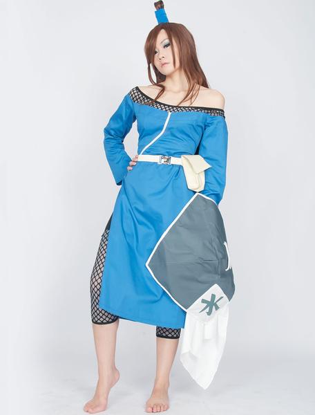 Milanoo Halloween Naruto Terumi Mei Fifth Mizukage Halloween Cosplay Disfraz