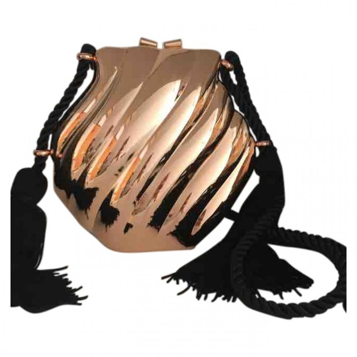 Bolsos clutch en Metal Multicolor Zara