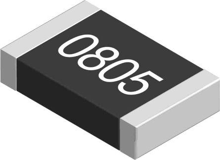 Yageo 10 O, 10 O, 0805 Thick Film SMD Resistor 5% 0.125W - AC0805JR-0710RL (5000)