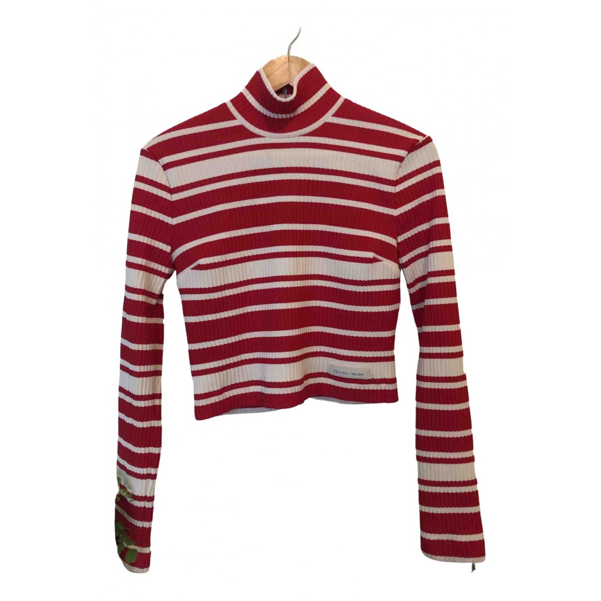 Prada \N Red Knitwear for Women 42 IT