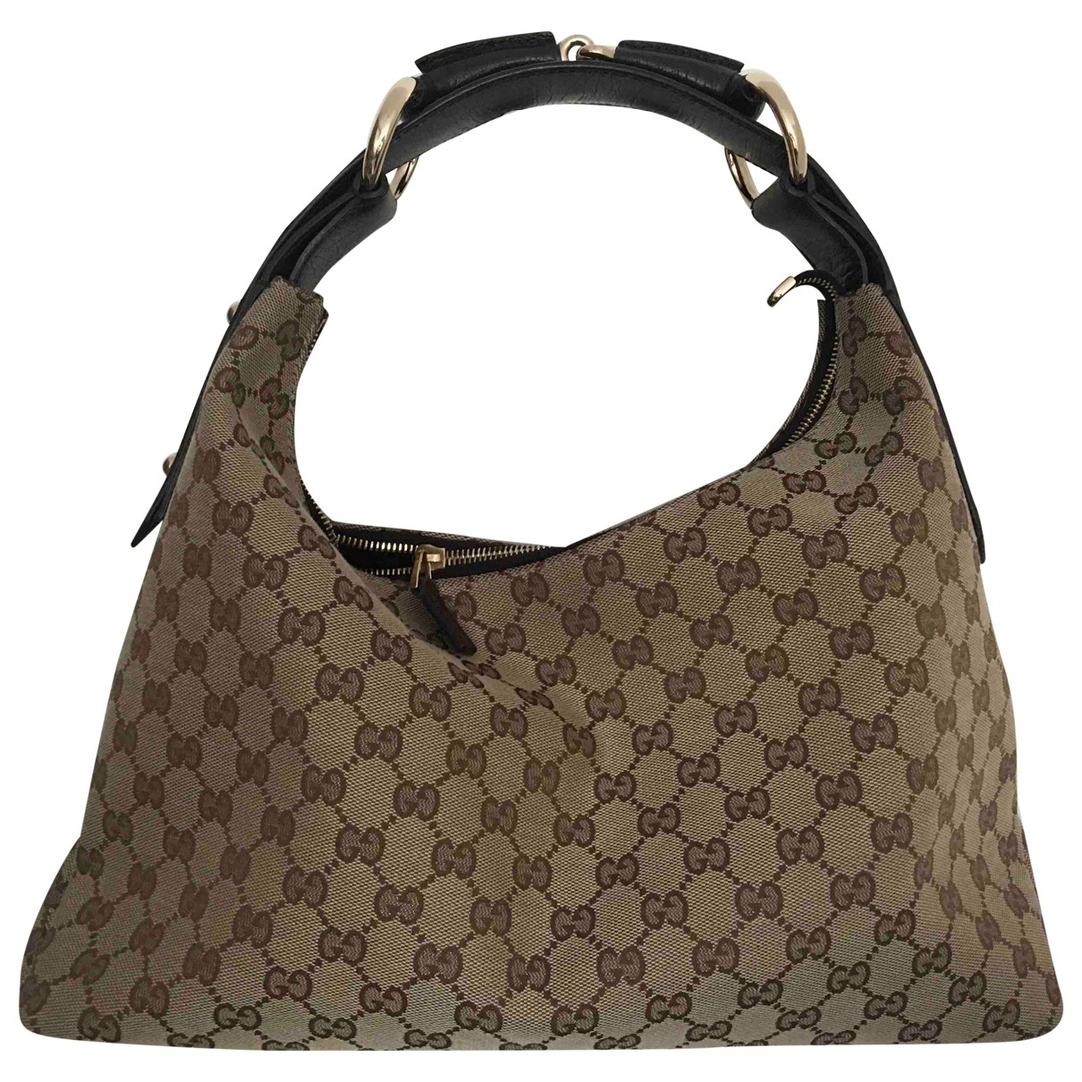 Gucci Hobo Brown Cloth handbag for Women \N