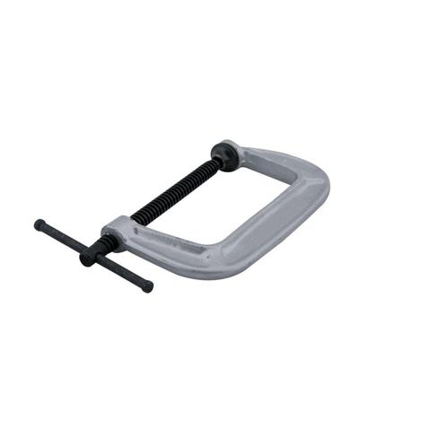 Wilton 140 Series C-Clamp, 0 In. to 5 In. Jaw Opening, 3 In. Throat Depth