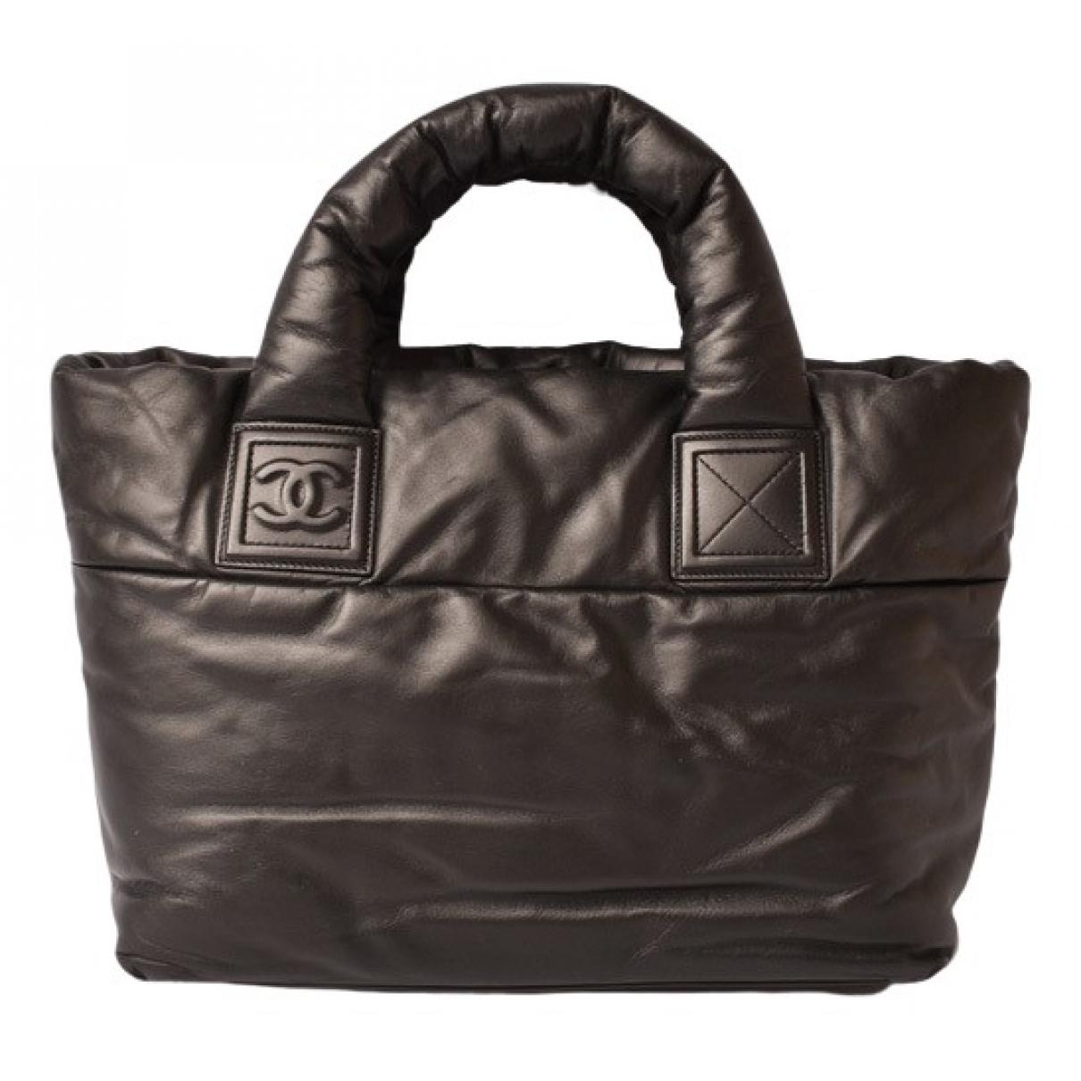 Chanel Coco Cocoon Handtasche in  Schwarz Leder