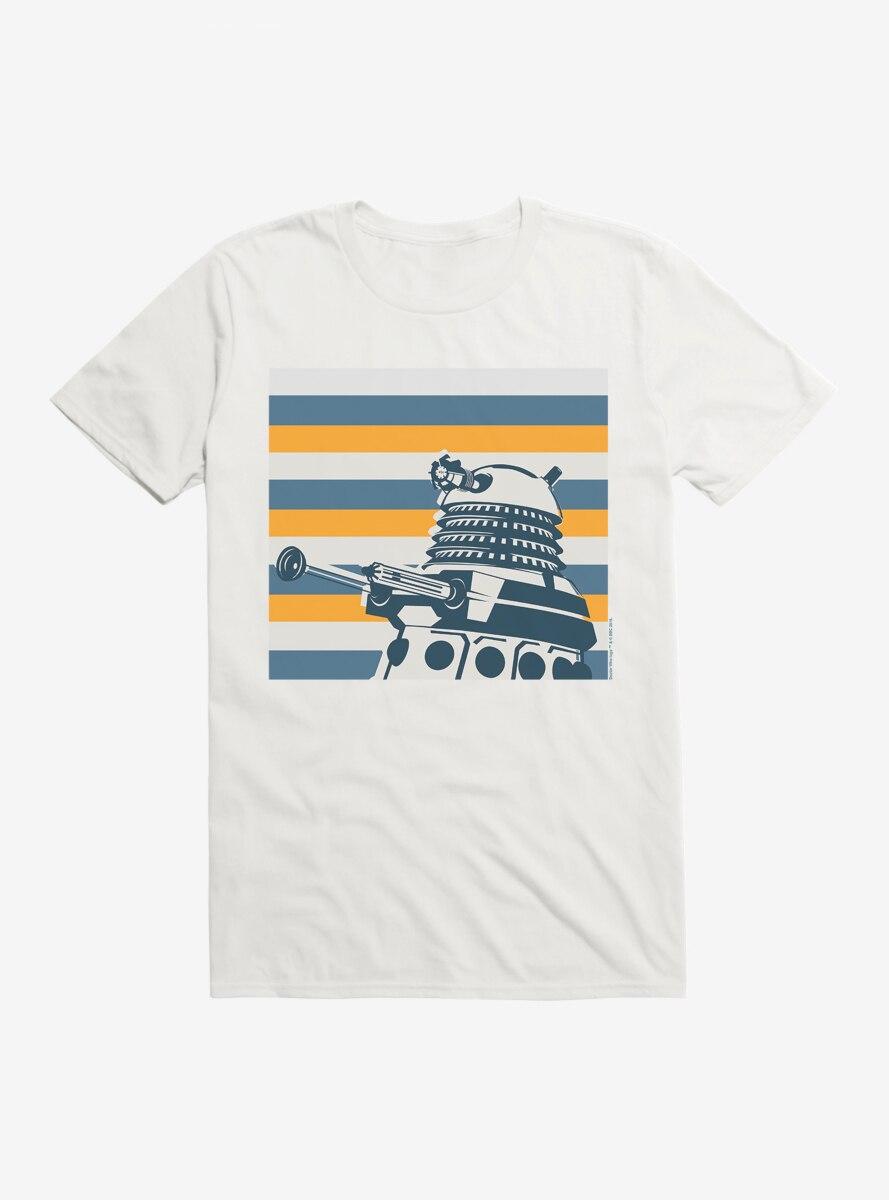 Doctor Who Dalek Striped T-Shirt