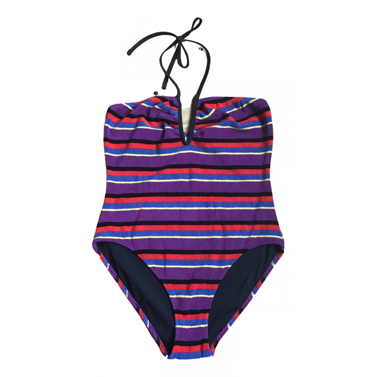 Solid & Striped \N Badeanzug in  Bunt Baumwolle - Elasthan