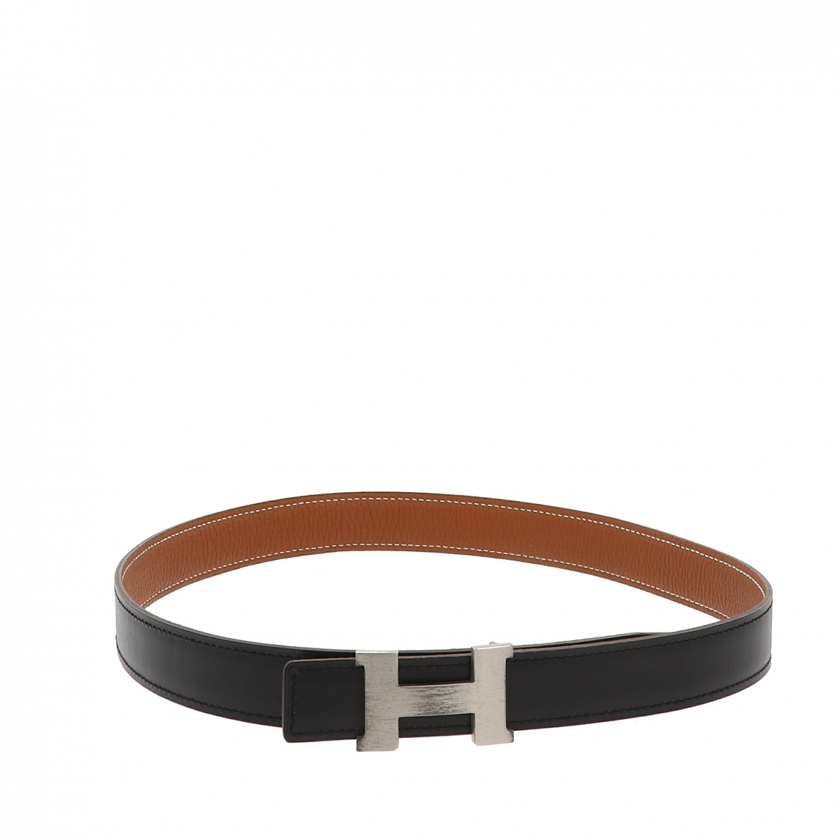 Hermès \N Black Leather belt for Women 70 cm