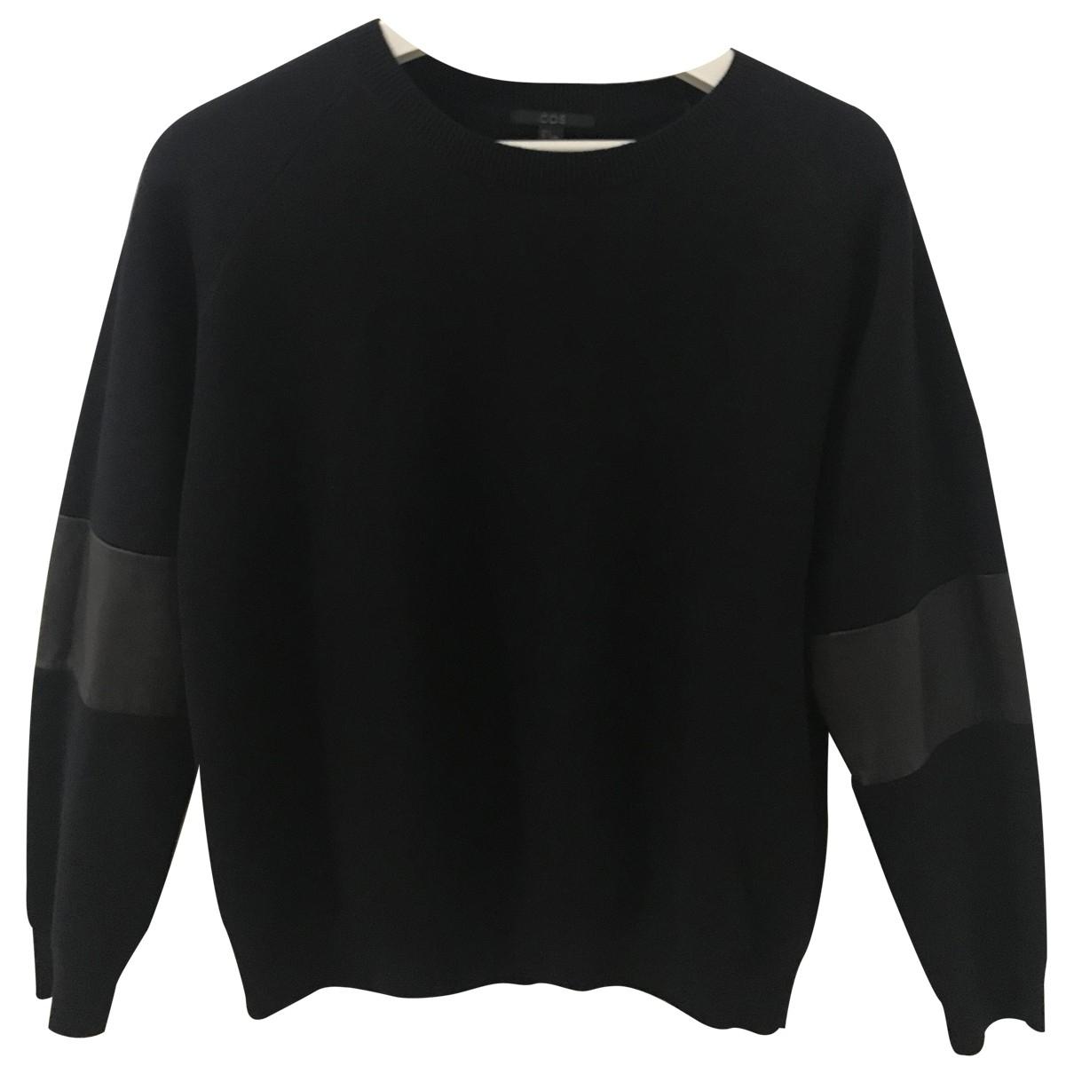 Cos \N Pullover.Westen.Sweatshirts  in  Blau Baumwolle