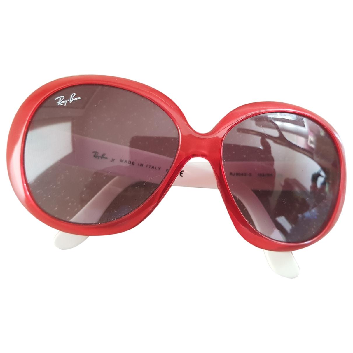 Ray-ban \N Sonnenbrillen in  Rot Kunststoff
