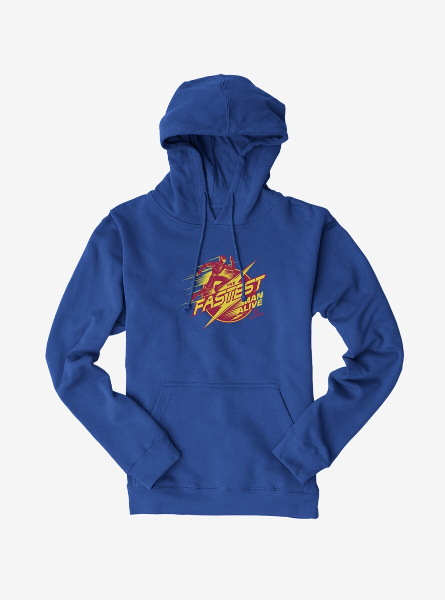 DC Comics The Flash The Fastest Man Alive Hoodie