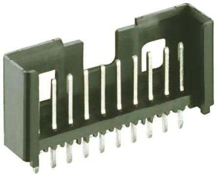 Lumberg , Minimodul, 3 Way, 1 Row, Straight PCB Header (10)