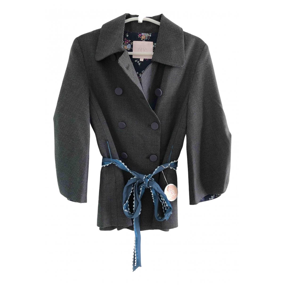 Rebecca Taylor N Grey jacket for Women 4 US