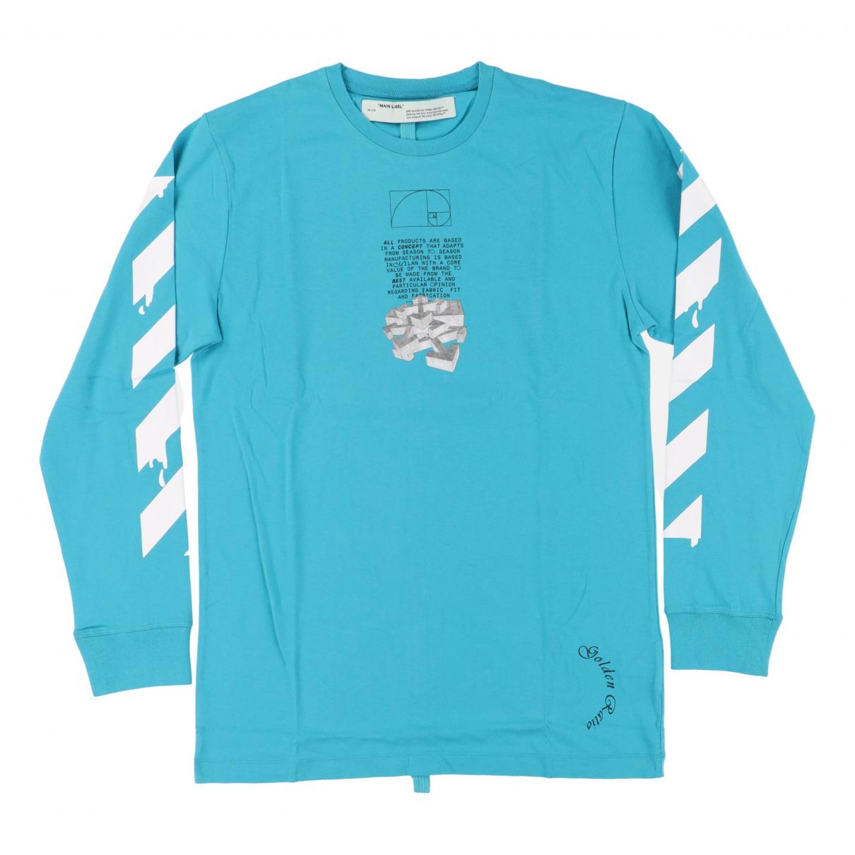Off-white \N T-Shirts in  Blau Baumwolle