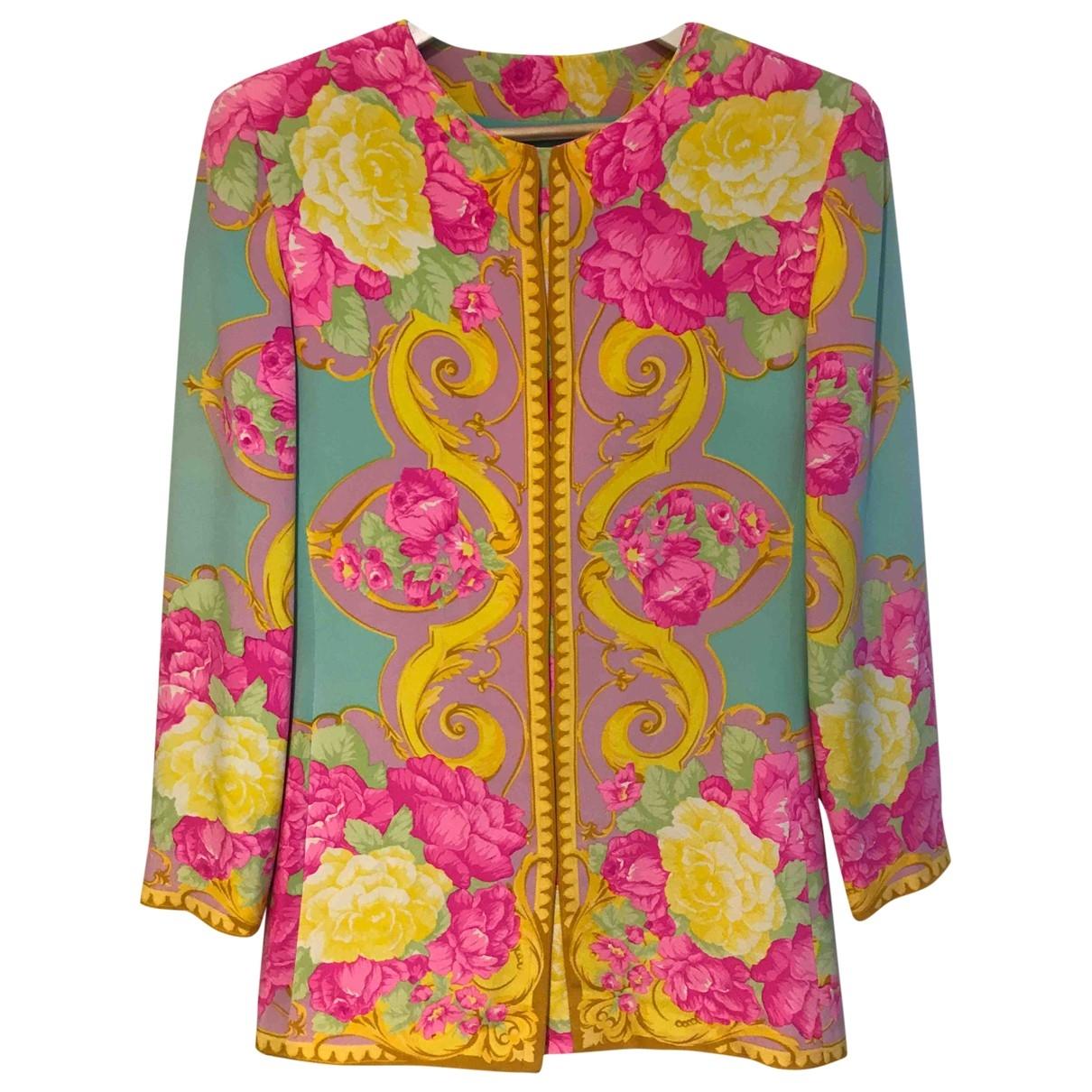Genny \N Multicolour Silk jacket for Women 44 IT