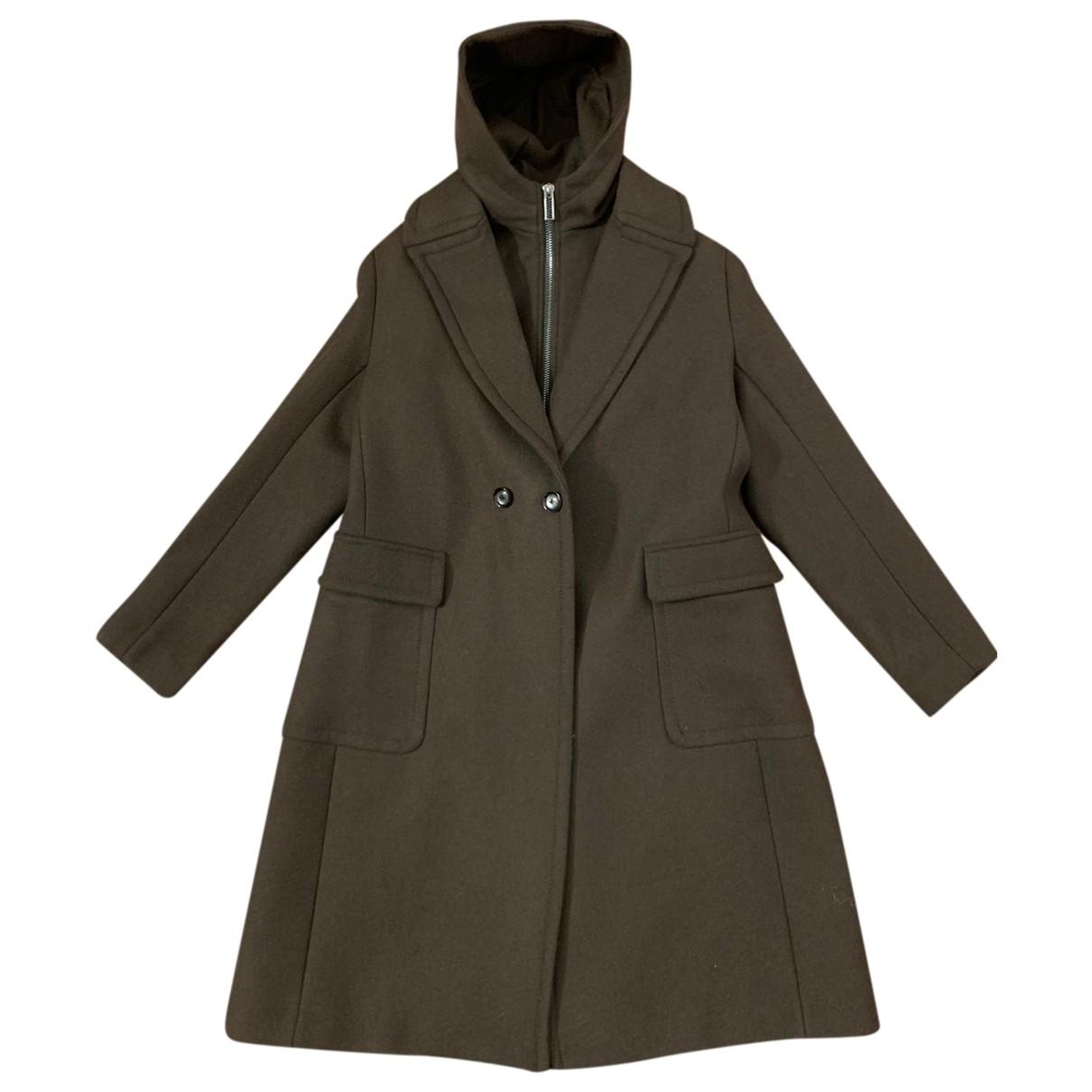 Emporio Armani - Manteau   pour homme en laine - vert