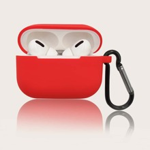 1pc Solid AirPods Pro Case