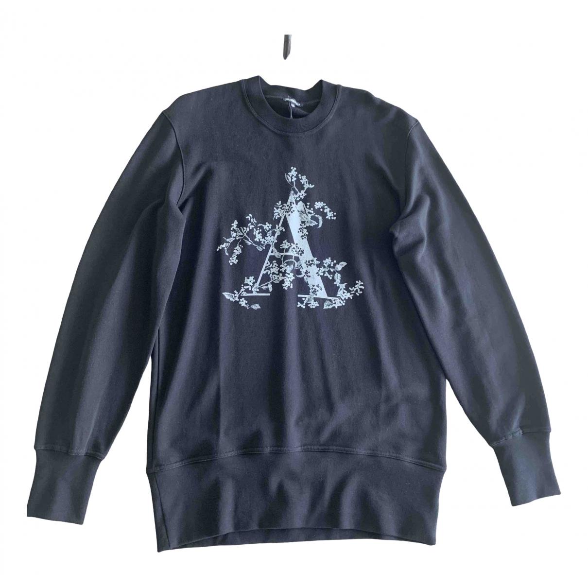 Ann Demeulemeester \N Black Cotton Knitwear & Sweatshirts for Men M International