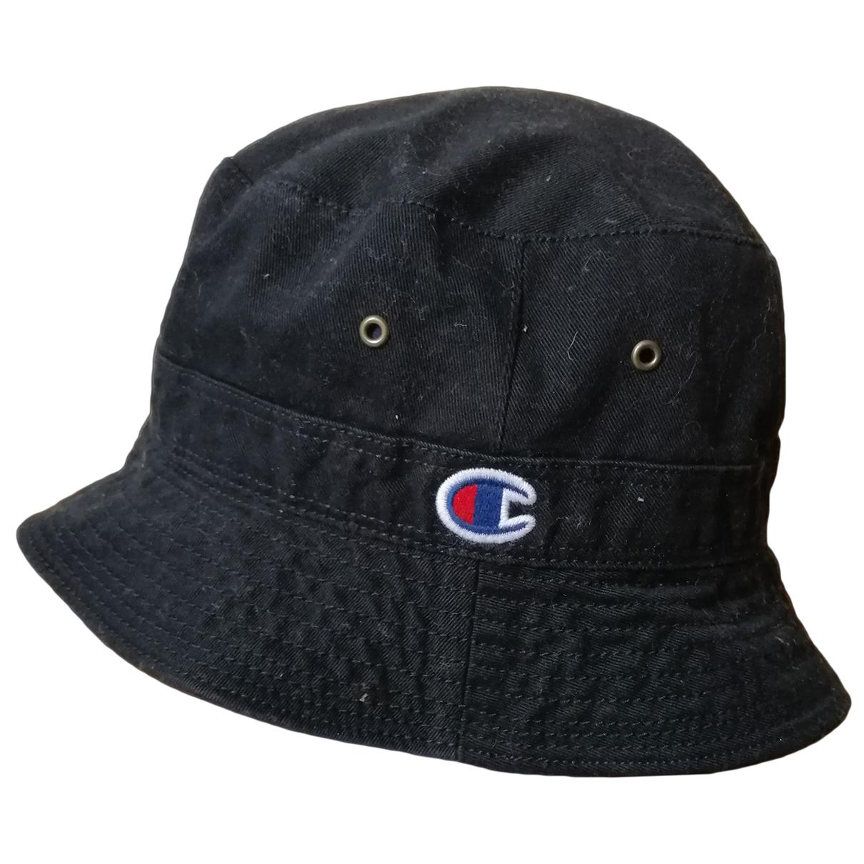 Champion - Chapeau & Bonnets   pour homme - noir