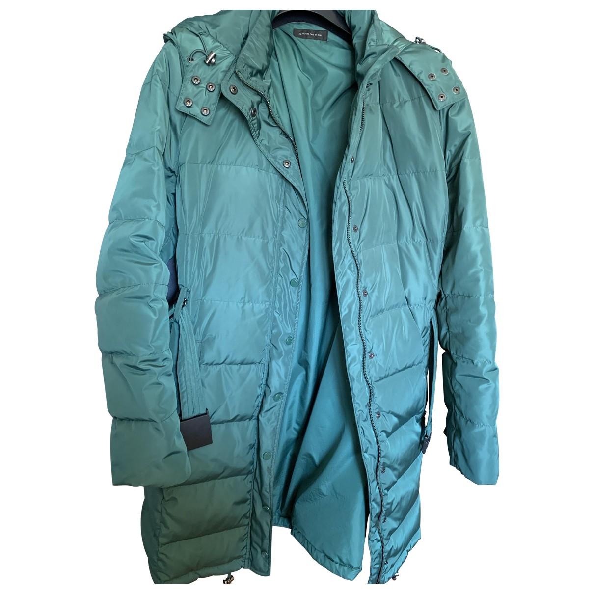 Strenesse - Manteau   pour femme en fourrure - vert