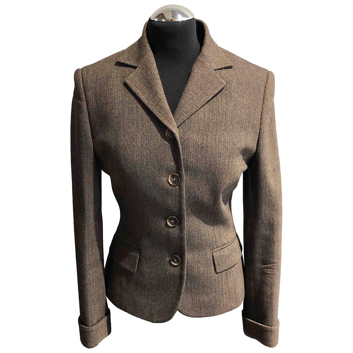 Ralph Lauren Collection - Veste   pour femme en laine - marron