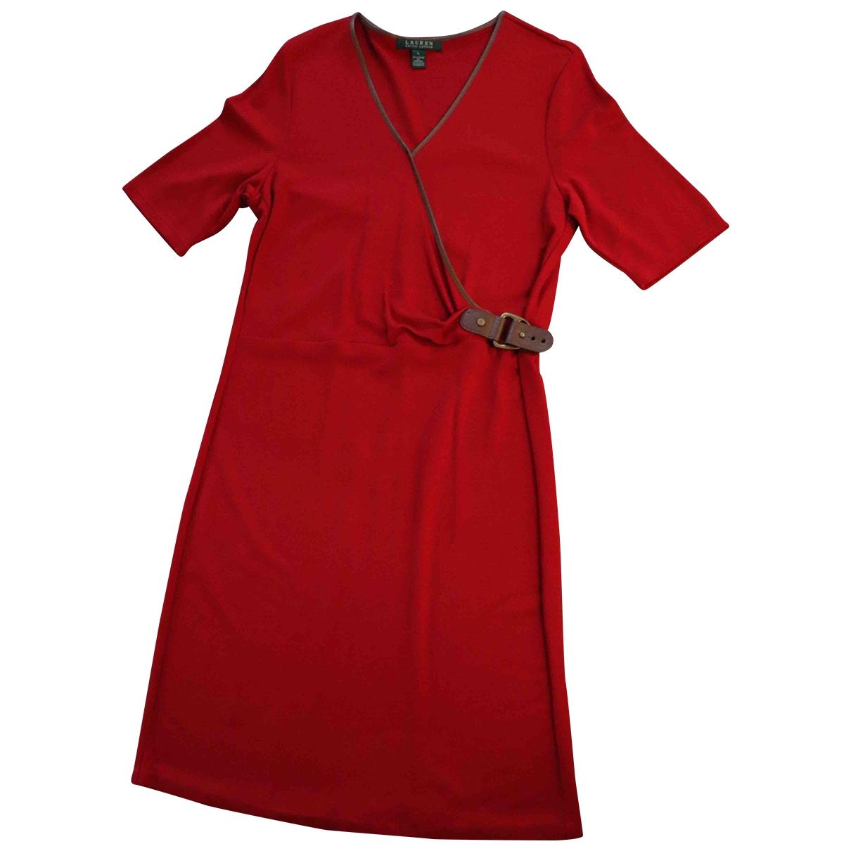 Lauren Ralph Lauren \N Kleid in  Rot Viskose