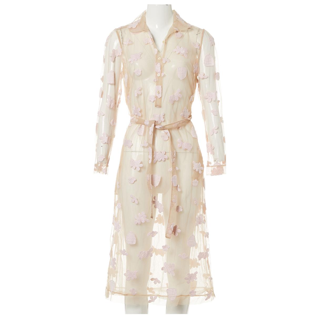 Simone Rocha \N Beige dress for Women 36 FR