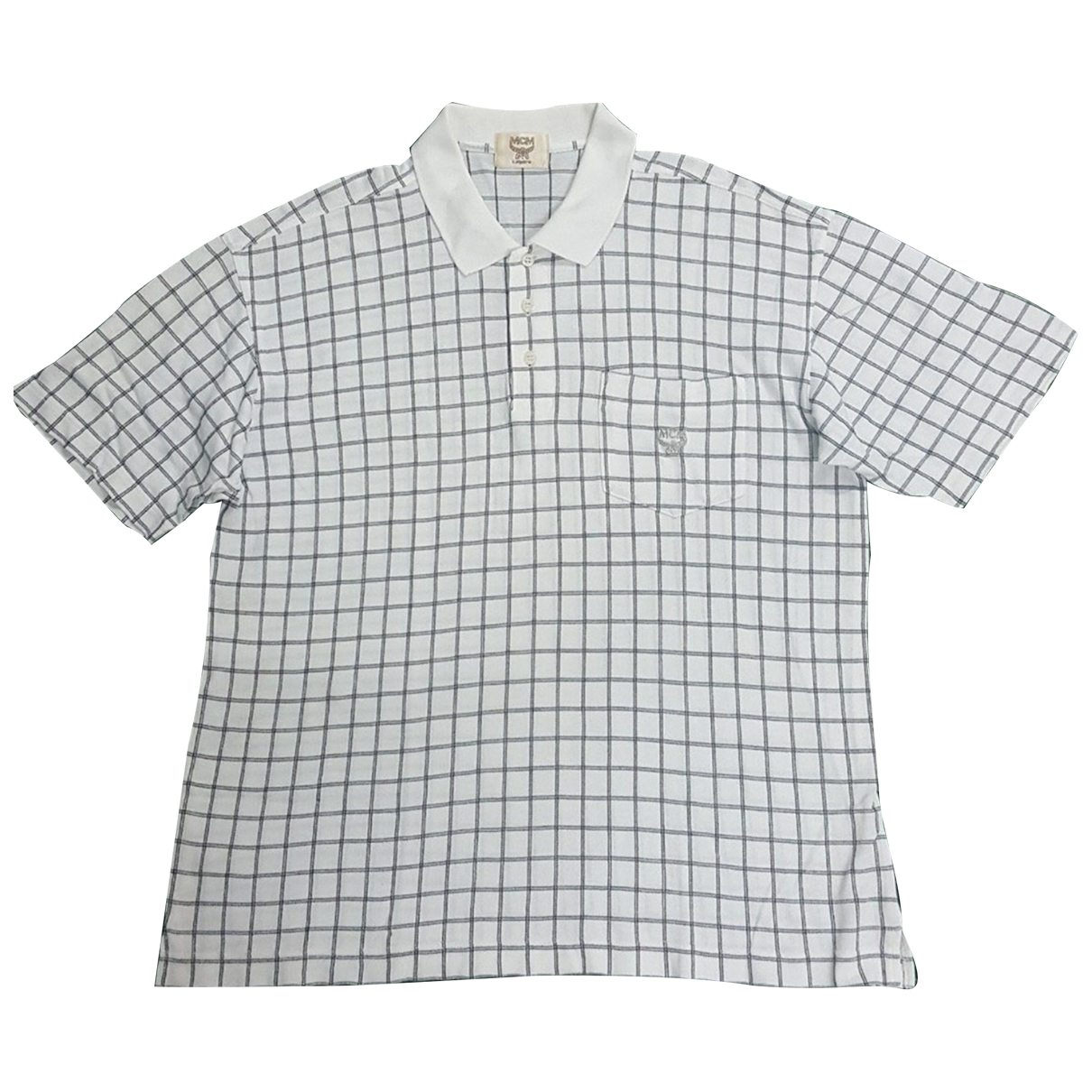 Mcm \N Poloshirts in  Weiss Baumwolle