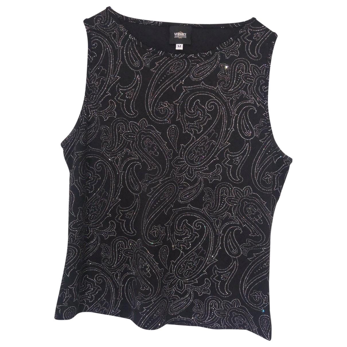 Versace Jeans \N Black  top for Women M International