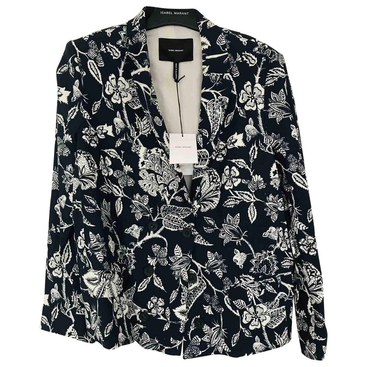Isabel Marant \N Blue Linen jacket for Women 40 FR