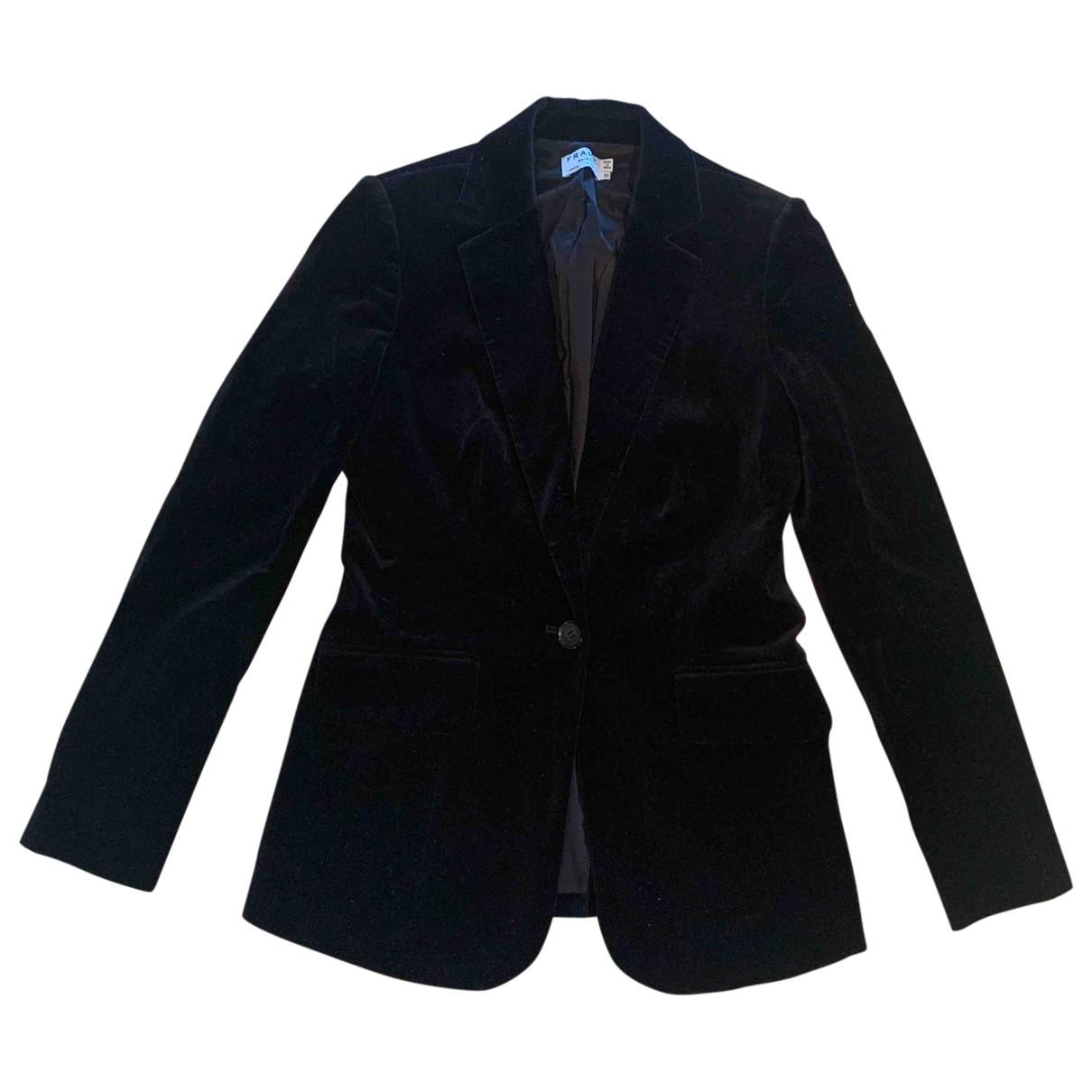 Frame Denim - Veste   pour femme en velours - noir