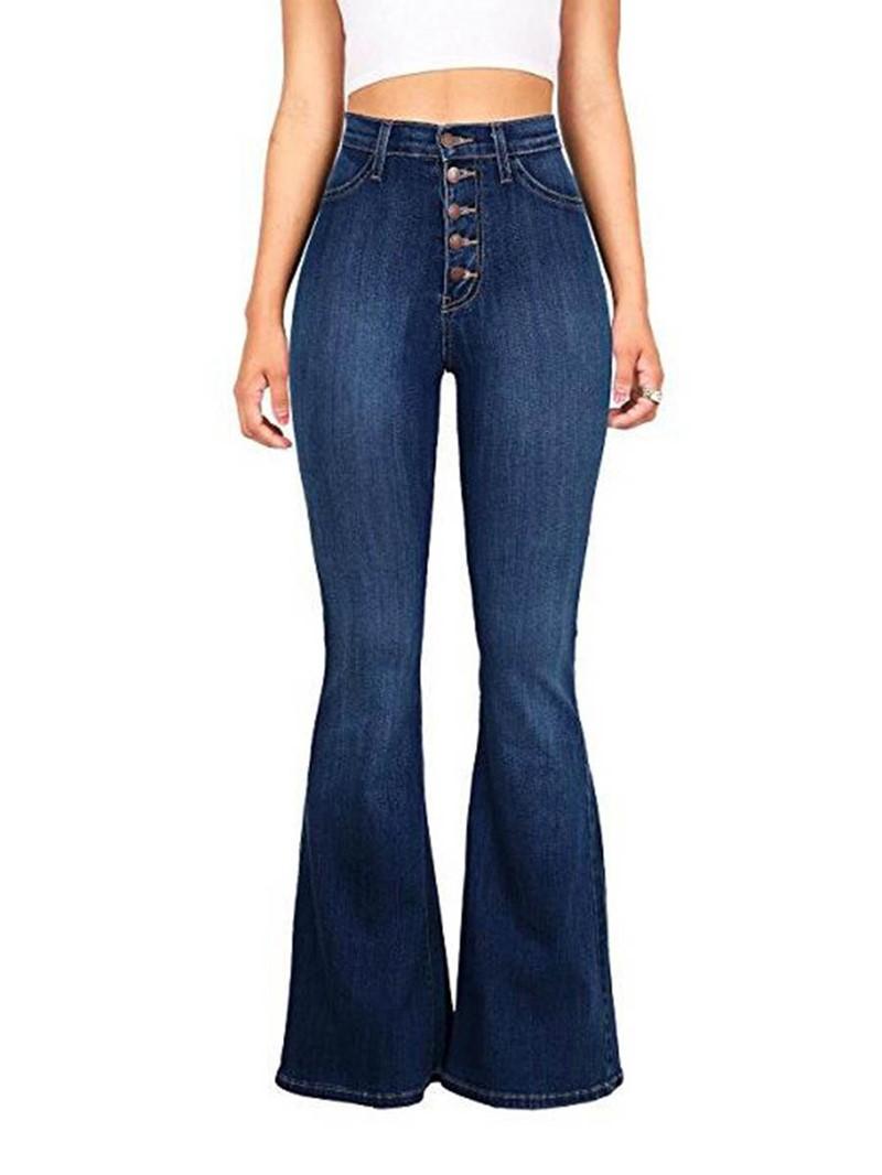 Ericdress Denim Washable Women's Jeans