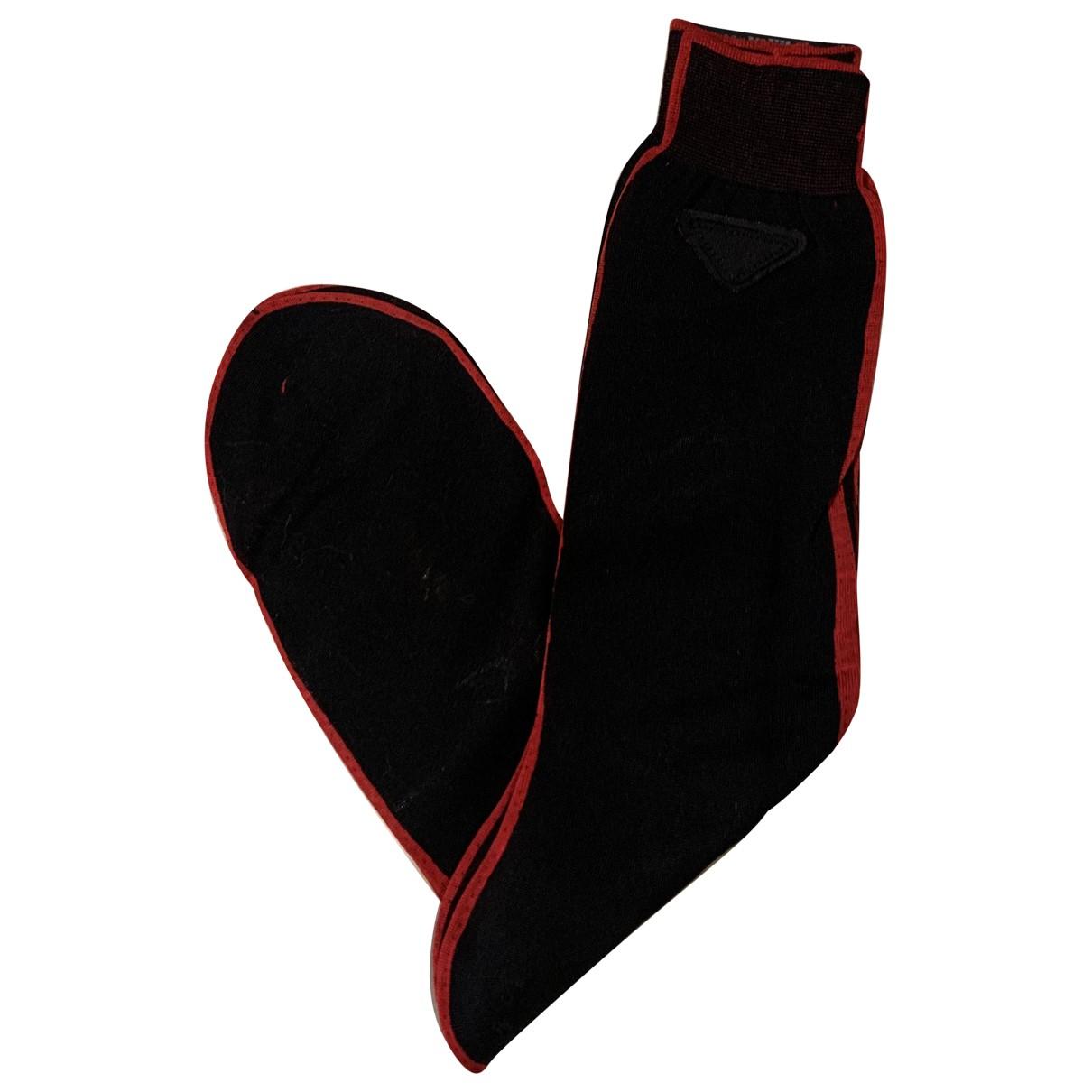 Prada N Black Cotton - elasthane Swimwear for Men M International