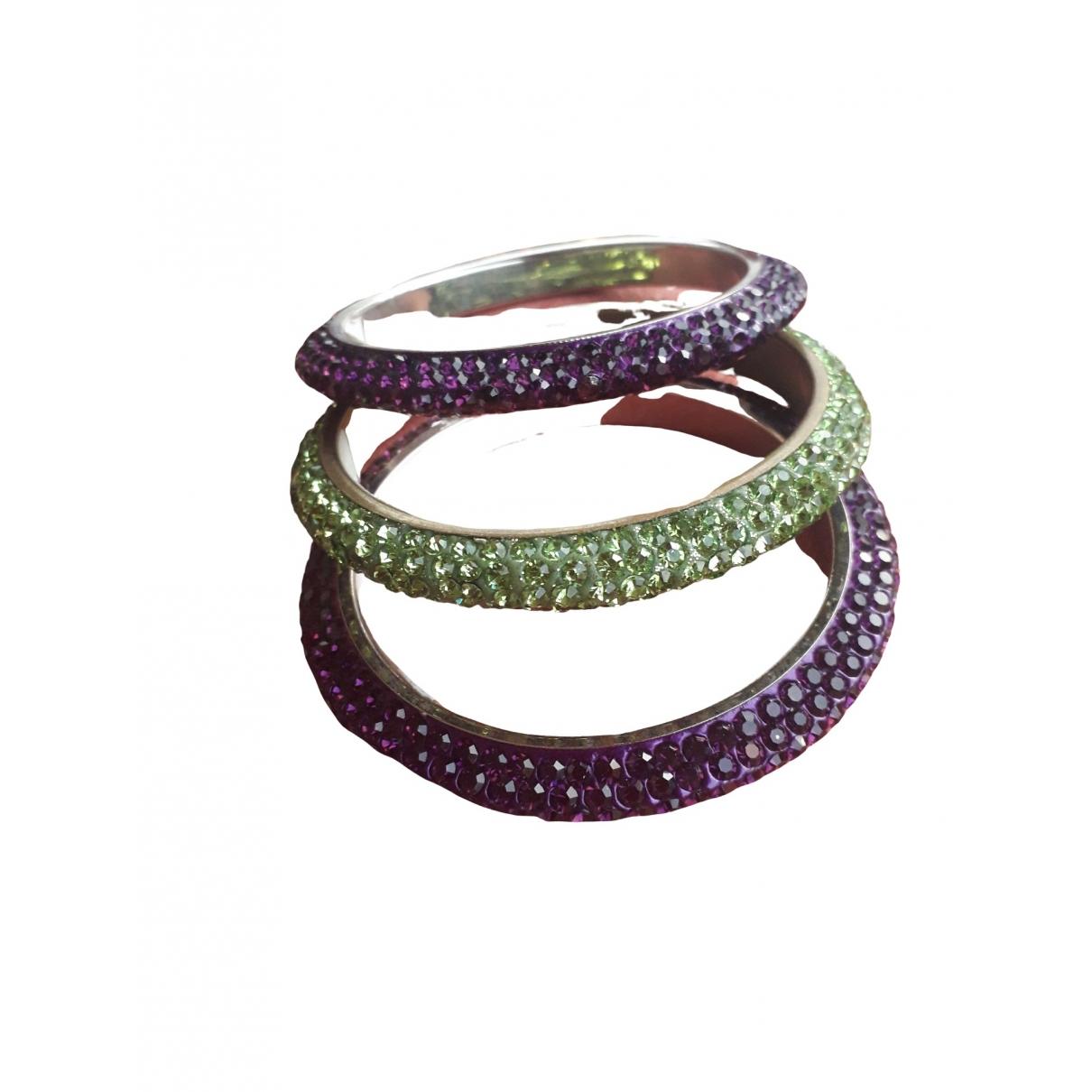 Swarovski - Bracelet   pour femme en acier - violet
