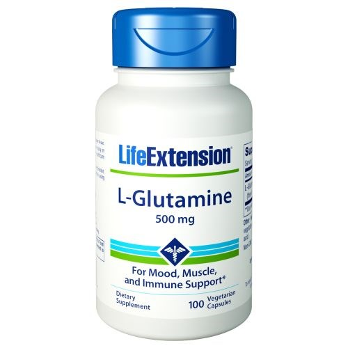 L-Glutamine 100 caps by Life Extension