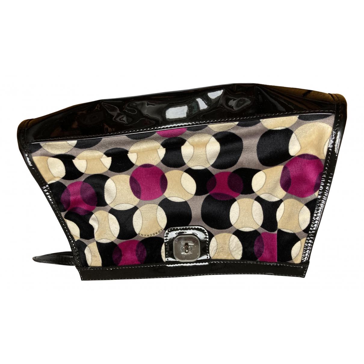 Longchamp - Pochette Gatsby pour femme en coton - noir