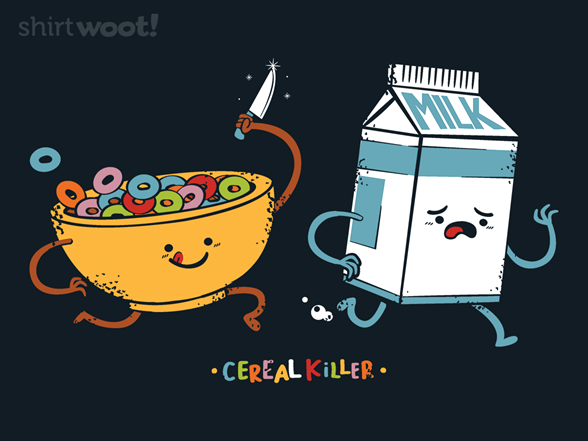 The Cereal Killer T Shirt