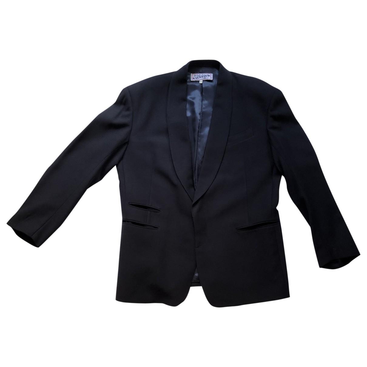 Jean Paul Gaultier \N Blue Wool jacket  for Men 50 IT