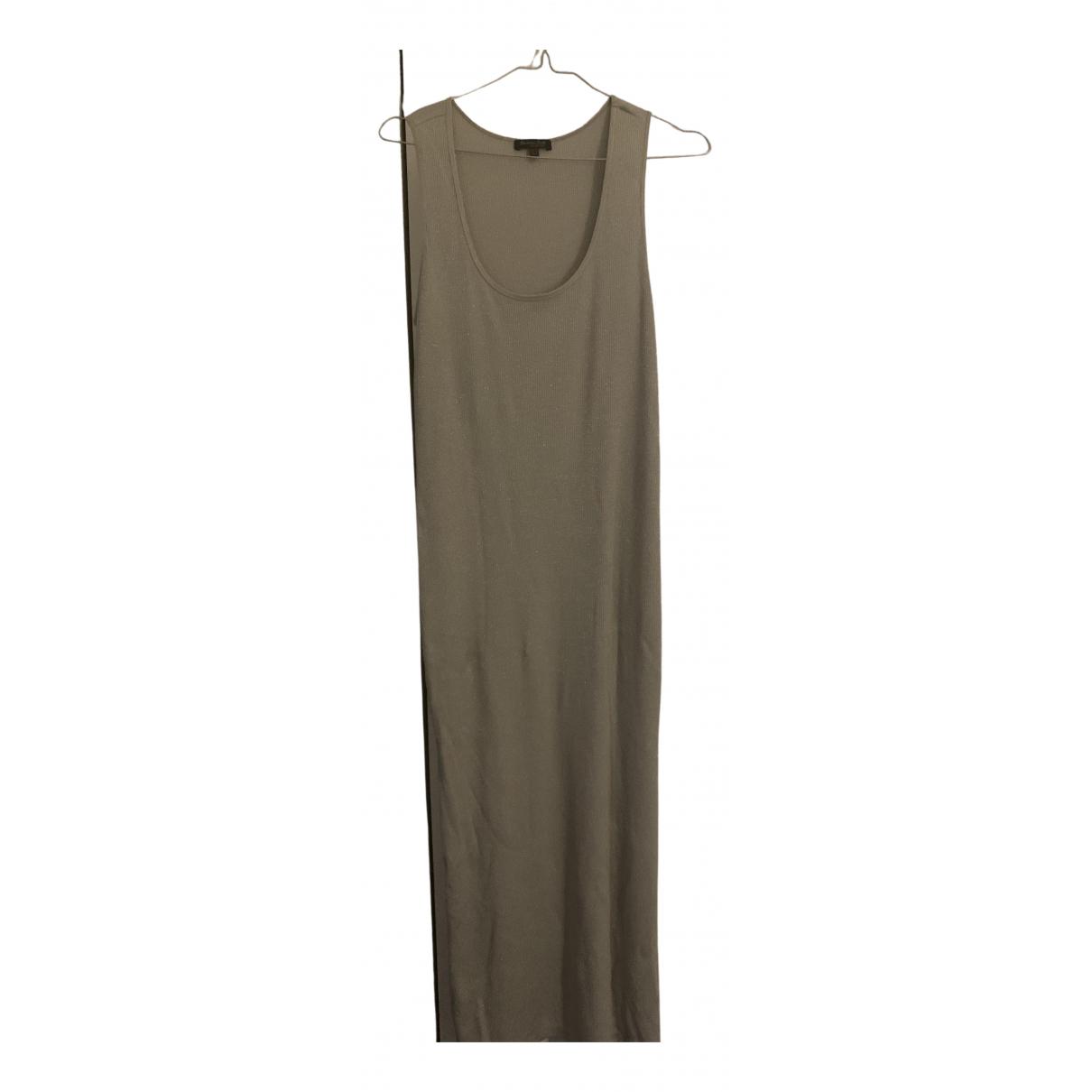 Massimo Dutti N Metallic Cotton dress for Women M International