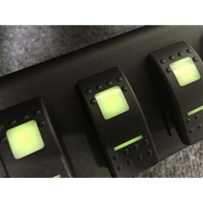 SPOD 6 Switch Double LED Switches Source System with Air Gauge - 610-07LT-LEDG