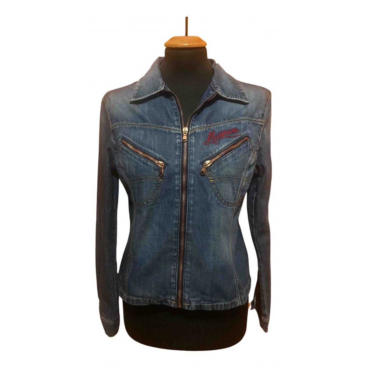 Museum - Veste   pour femme en denim - bleu